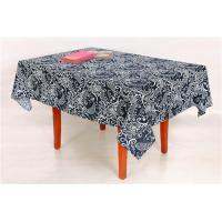 Handmade Technics Custom Printed Tablecloths With Classic Damask Pattern Manufactures