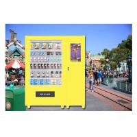 Park Auto Snacks Drinks Vending Machines , Beer Vending Machine In Public Manufactures