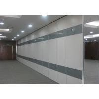 Acoustic Movable Sliding Folding Partition Walls Fire and Sound Resistant Manufactures