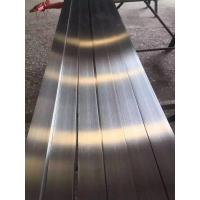 316L Stainless Steel Flat Bar Brush Finished ASTM A276 SS Flat Plate Stright Manufactures