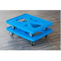 Impact - Resistance Large Plastic Moving Trolley Loading Capacity 225kg Manufactures
