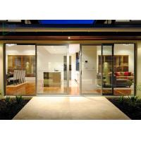Functional System Aluminium Alloy Sliding Glass Door with  Undisturbed Views Manufactures