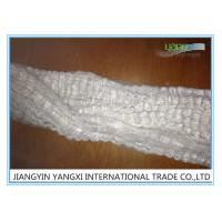 Easy To Process White Polyester Tops For Filtration / Furniture 2.5 Denier