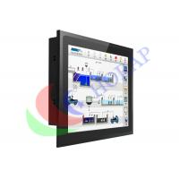 15 Inch Panel Mount Pc Touch Screen , Fanless Embedded Panel Pc With Black Metal Case Manufactures