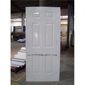 China Stamped Steel door skins (Metal Door Skins) on sale