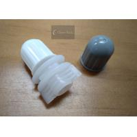 Polyethylene Round Twist Top Cap 12mm For Plastic Bag / Pouch , Plastic Material Manufactures