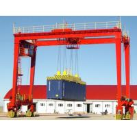 China Rubber tired gantry crane on sale