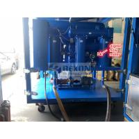 Weather Proof Type 9000LPH Electric Insulating Oil Purifier Machine for Onsite Transformer Oil Maintenance