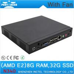 Mini PC Desktop PC with fan 1.7Ghz CPU RJ45 HDMI VGA COM 8G RAM 32G SSD wifi support Manufactures