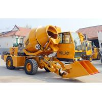 China 2WD Type Heavy Construction Machinery  ,  1.6 Cubic Meters Concrete Transit Mixer on sale