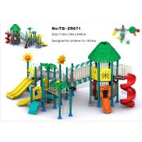 Combined Slide Children'S Outdoor Playground Equipment For Amusement Park Manufactures