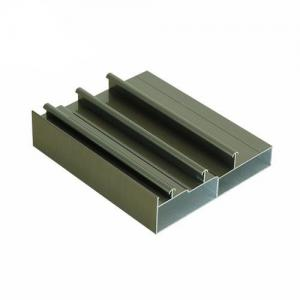 China 6063 Window Frame Profiles Anodized Aluminum Profile For Glass Construction Materials on sale