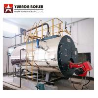 Package Type Industrial Fire Tube Riello Burner Gas Steam Boiler 2000kg Manufactures