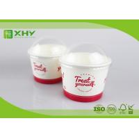 500ml 16oz Disposable FDA Certificated Frozen Yogurt Cups with Dome Lids Manufactures