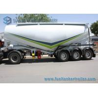 Tri - Axle Lifting Tandem Axle Utility Trailer Bulk Tanker Trailer 52 KL Capacity Manufactures