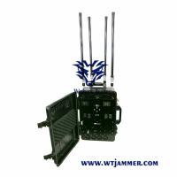 Backpack Mobile Phone Signal Jammer High Power Antenna Gain 3-4 DBi For VIP Protection Manufactures