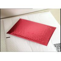 Biodegradable Red Anti Static Bubble Bags For Toy 115x210mm #B VMPET Material Manufactures
