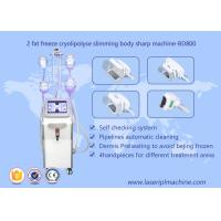 Shape Body Cryolipolysis Slimming Machine , Lipo Cryo Cryolipolysis Beauty Equipment Manufactures