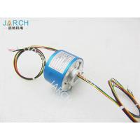 Quality 12.7mm Stable Performance Through Bore Slip Ring , 500RPM 12A Rotary Connector for sale