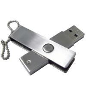 Metal Imation Usb 2.0 Swivel Flash Drive 8gb  ,  Personalized External  Thumb  Mini Flash Drive Manufactures