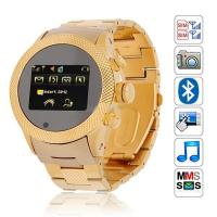 Quad Band Watch Mobile Phone Dual SIM Camera Bluetooth 1.5-Inch Touch Screen (S766) Manufactures