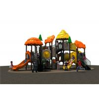Commercial Children Outdoor Playground Equipment With PVC Coated Manufactures
