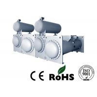 Condensing Unit Flooded Heat Exchanger , Shell And Tube Evaporator R410A Refrigerant Manufactures