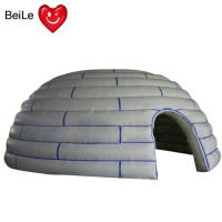 Buy cheap 210D  reinforced oxford material Kids outdoor and indoor Inflatable dome play forts from wholesalers