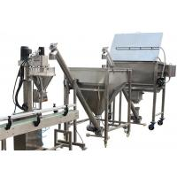 Milk Powder Packaging Machine / Stainless Steel 304 Automatic Filling Machine Manufactures