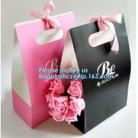 China Free Design!! Free Sample!!! flower carrier bag transparent window paper bag valentine's gift clear window bags sample f on sale