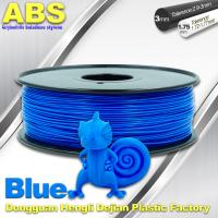 3D Printer Material Strength Blue Filament  , 1.75mm / 3.0mm ABS Filament Consumables Manufactures