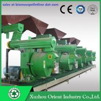 CE ISO SGS Certificate TN-Patent High Capacity Biomass Ring Die Wood Pellet Machine Manufactures