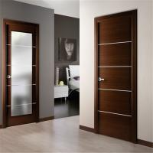 Front Entrance Wood Composite Door Different Color Plastic Composite Frame