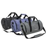 Custom Printed Travel Duffle Bag / Gym Duffle Bag With Zipper Closure Manufactures