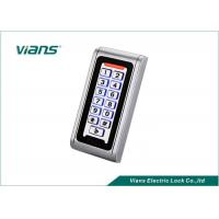Waterproof Standalone Access Control Keypad With Light 5-15CM Reading RFID EM Card Manufactures
