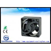 Quality 17mm Long Lifespan Plastic Transformer Cooling Fans Axially Grooved Bearing for sale