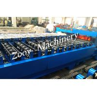 Metal Roof Tile Roll Forming Machine corrugated sheet With 20 Forming Steps Manufactures