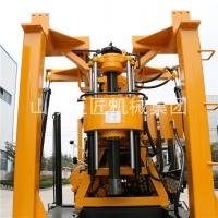 Portable crawler type drilling artesin wells 200m water well drilling machinery for sale XYD-200 Manufactures