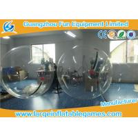 Transparent Inflatable Walk On Water Bubble Ball For Summer Water Game Manufactures