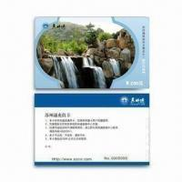 Pre-printed PVC Card with Serial Number Thermal Printing and Double Side Lamination Manufactures