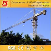Building Construction site generally use Model QTZ6010 tower crane Manufactures