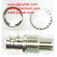 BNC Female To F Male with washer and nut Coaxial Adapter Coaxial Adaptor for CCTV Connectors audio and video connector Manufactures