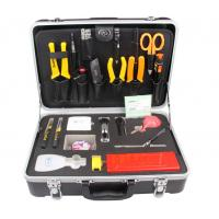 China Rugged Field Case Deluxe Fiber Optic Splicing Tool Kit  , Fiber Optic Installation Tools on sale