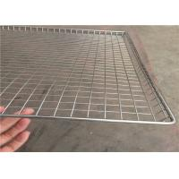 Light Weight Wire Mesh Basket Tray , Wire Cable Tray 100cm*50cm*20cm Manufactures