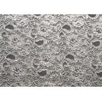 China Nylon Rayon Viscose Corded Lace Fabric Jacquard Shrink-Resistant CY-LW0733 on sale