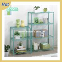 China Green Powder Coated Wire Shelf on sale