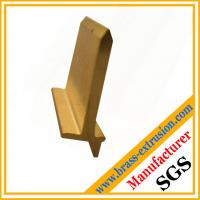 China Extruded copper alloy brass angle extrusion profiles for hardware ODM 5~180mm C38500 CuZn39Pb3  CuZn39Pb2 CW612N C37700 on sale