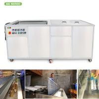 Rinsing Tank Ultrasonic Blind Cleaning Machine Sonic Window Blind Cleaner For Office Buildings Manufactures
