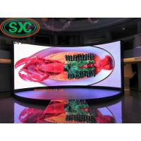 China SMD2121 Indoor Fixed LED Display , LED Video Display Screen 1024mm*1024mm Module Size on sale
