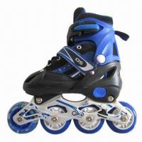 Adjustable Inline Skates for Kids, with PVC/PU Wheel Manufactures